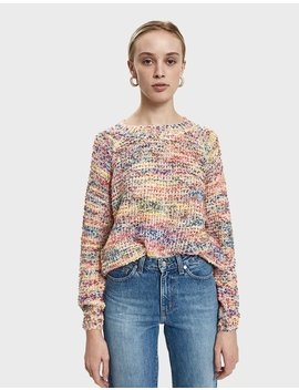 Eleanor Multi Colored Knit Sweater by Farrow