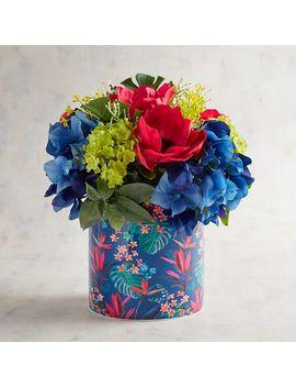 Faux Anemone Tropical Floral Arrangement by Pier1 Imports