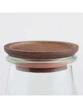 Small Wood Weck Jar Lids 2 Pack by World Market