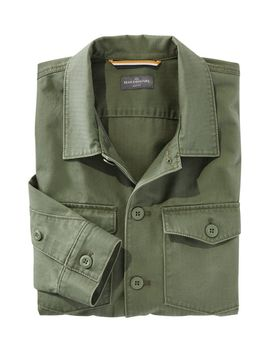 Signature Woven Utility Overshirt by L.L.Bean