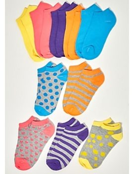 3 Pack Mint Striped Sloth Ankle Sock Set by Rue21
