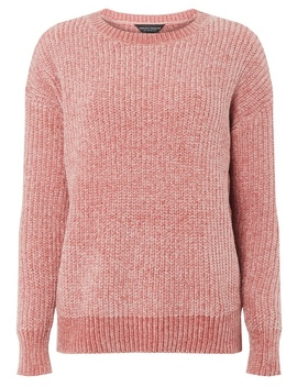 Pink Chenille Jumper by Dorothy Perkins