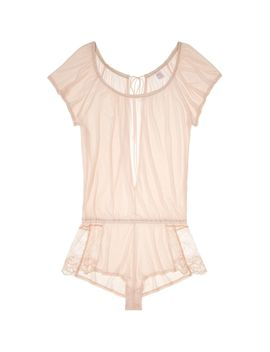 Venice Tie Back Romper by Only Hearts Journelle Only Hearts Dita Von Teese Coco De Mer Morgan Lane