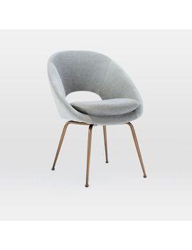 Orb Velvet Dining Chair by West Elm
