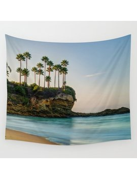 Palm Point Wall Tapestry by