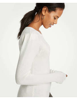 Puff Shoulder Sweater by Ann Taylor