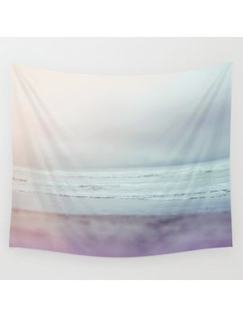 Ocean Pastel Wall Tapestry by