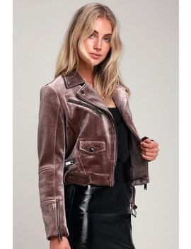 Chic Street Taupe Velvet Moto Jacket by Lulu's