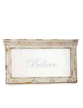 Grand Noel Collection Believe Antiqued Mirror Stocking Holder by Southern Living