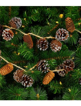 Cozy Christmas Collection 6 Ft. Pinecone Garland by Trimsetter