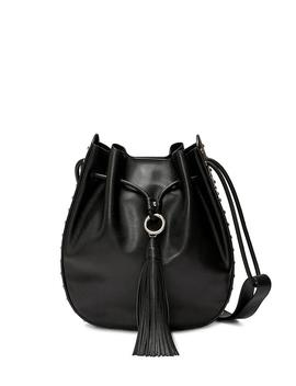 Lulu Contour Stud Shoulder Bag by Rebecca Minkoff