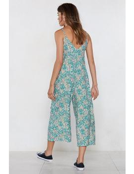 What's The Plant For Tonight Jumpsuit by Nasty Gal