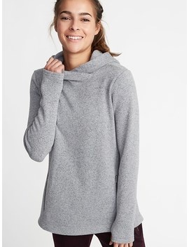 Sweater Fleece Pullover Hoodie For Women by Old Navy