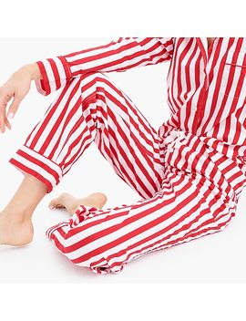 Vintage Pajama Pant In Candy Cane Stripe by J.Crew