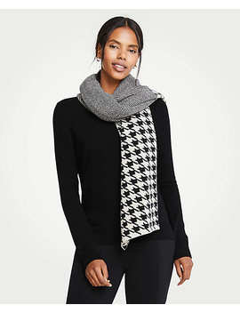 Mixed Pattern Blanket Scarf by Ann Taylor