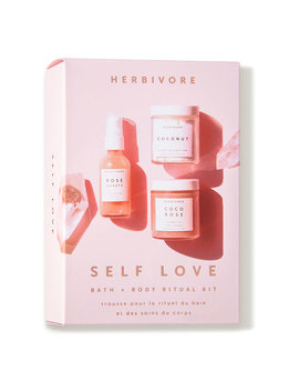 Self Love Bath And Body Ritual Kit  (3 Piece) by Herbivore Botanicals