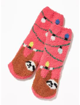 Graphic Cozy Socks For Kids by Old Navy