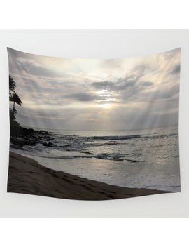 Maui Sunset Wall Tapestry by