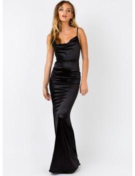 Anya Maxi Dress Black by Princess Polly