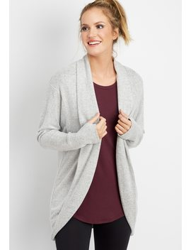 Open Front Cocoon Cardigan by Maurices