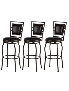 Copper Grove Nantucket Adjustable Bar Stools (Set Of 3) by Copper Grove