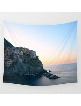 Morning In Italy Wall Tapestry by