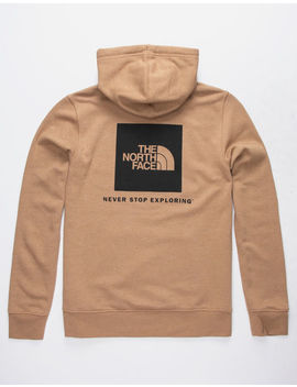 The North Face Red Box Light Tan Mens Hoodie by The North Face