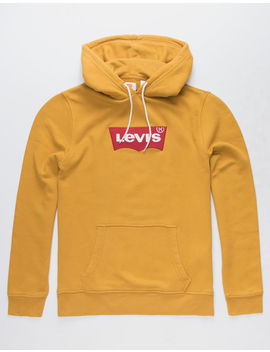 Levi's Logo Mustard Mens Hoodie by Levi's