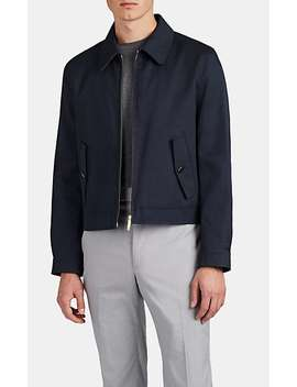 Harrington Cotton Twill Jacket by Thom Browne
