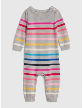 Crazy Stripe Sweater One Piece by Gap