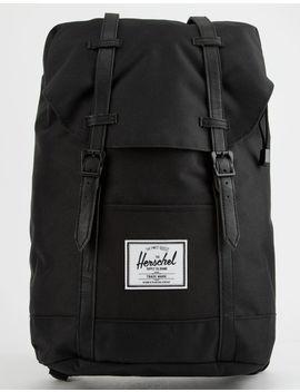Herschel Supply Co. Retreat Black Backpack by Herschel Supply Co.