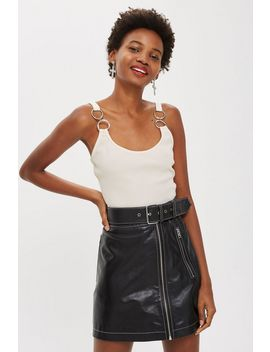 Hardware Strap Crop Top by Topshop