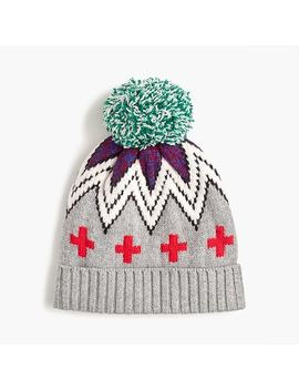 Patchwork Fair Isle Knit Hat by J.Crew