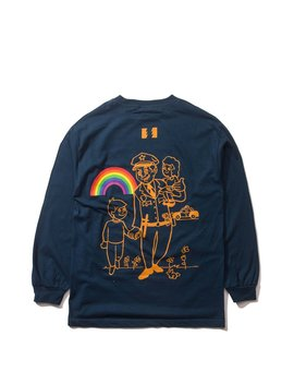 Flowers Rainbows L/S Shirt by The Hundreds