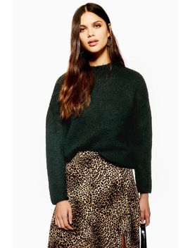 Green Jumper By Selected Femme by Topshop
