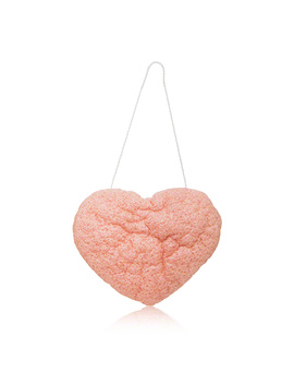 The Cleansing Sponge    French Pink Clay Heart Shape (1 Piece) by One Love Organics One Love Organics