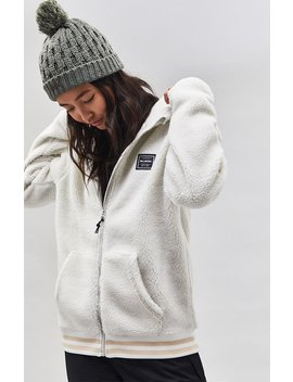 Billabong Snow Blossom Sherpa Hoodie by Pacsun