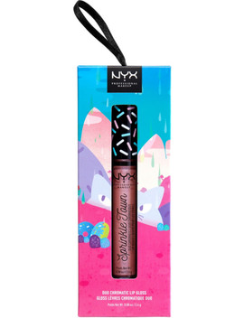 Spark Of Magic Sprinkle Town Duo Chromatic Lip Gloss by Nyx Professional Makeup