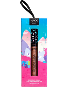 Shimmer Cravings Sprinkle Town Duo Chromatic Lip Gloss by Nyx Professional Makeup