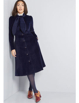 Living In Luxury Velvet Coat by Collectif