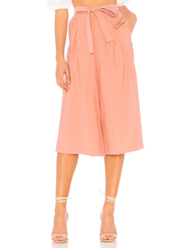 Self Belted Culotte In Rose Dawn by Bcb Generation