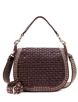 Discovery Collection Washed Woven Acerra Saddle Bag by Patricia Nash