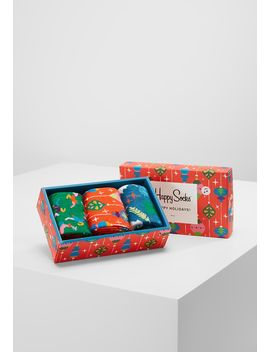 Singing Retro Holiday Gift Box 4 Pack   Sokken by Happy Socks