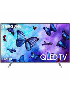 "Samsung Qn49 Q6 Fn 49"" Class/48.5"" Diag 4 K Qled Mr240 Smart Tv Q Contrast Hdr Voice by Samsung"