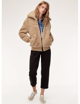 The Teddy Jacket   Zip Up Sherpa Jacket by Wilfred Free