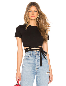 Kamilla Jersey Crop Top by By The Way.