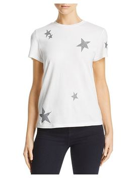 Glitter Star Tee   100 Percents Exclusive by Pam & Gela