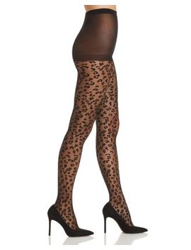 Sheer Leopard Tights by Kate Spade New York