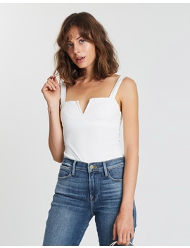 Pippa V Wire Bodysuit by Free People