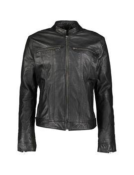Black Leather Jacket by Bolongaro Trevor